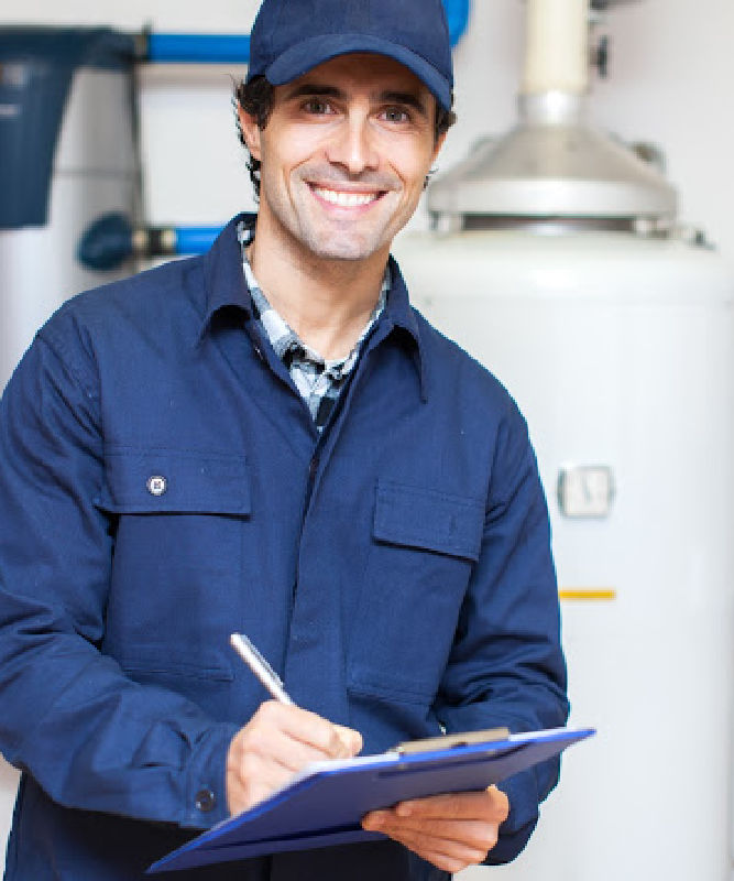 Water Heater Repair Chicago Technician Image