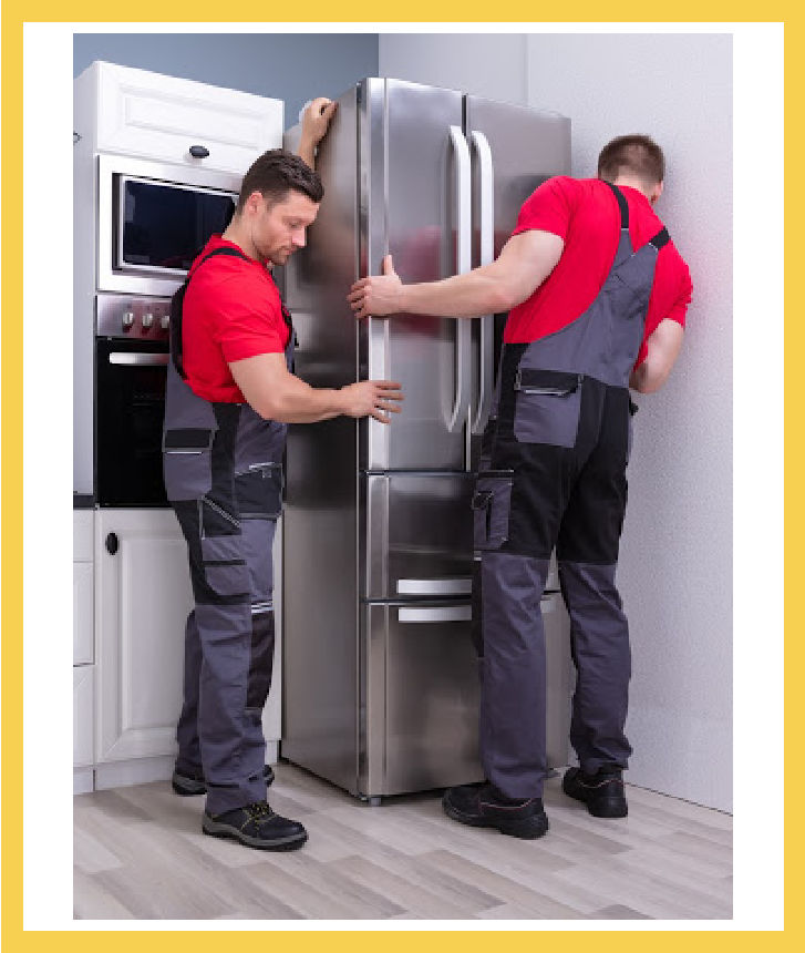 Chicago Appliance Installation of refrigerator Image