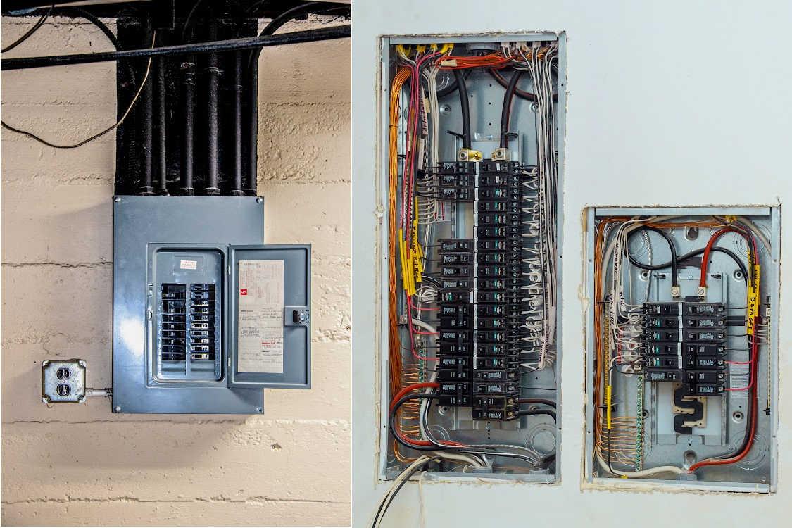Electrical panel image