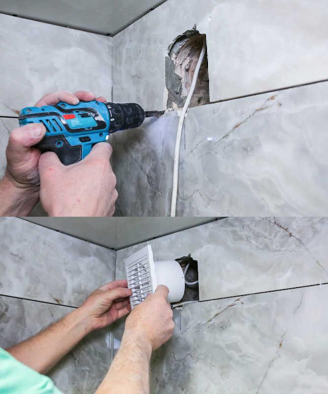 bathroom fan maintenance image