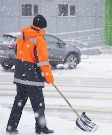 Chicago area snow removal handyman